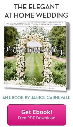Your Elegant At Home Wedding Ebook