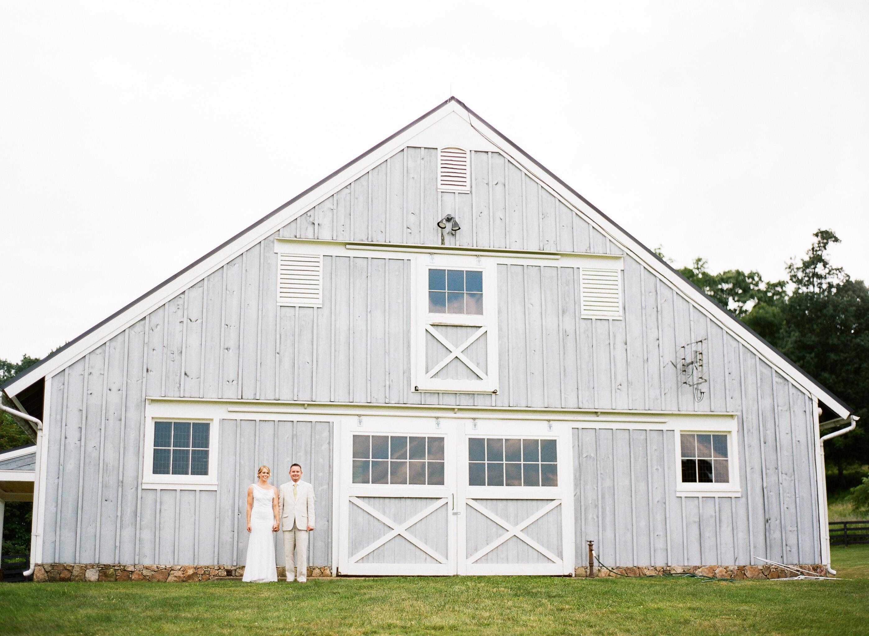 Virginia home wedding