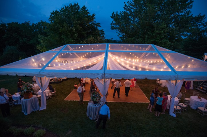 Michelle Lindsay Photography Bellwether Events Skyline Tents home wedding reception in Fairfax  -